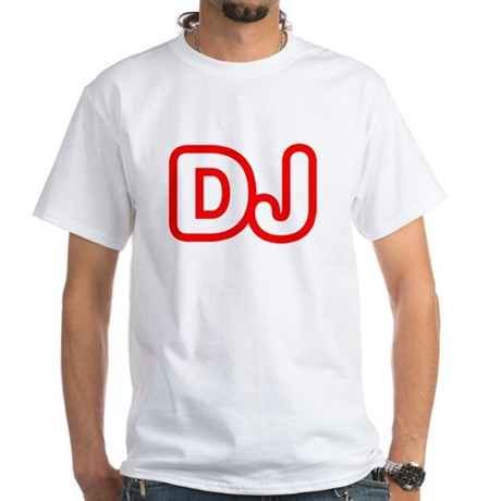 DJ White T-Shirt
