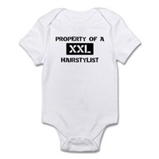 Property of: Hairstylist Infant Bodysuit