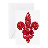 New orleans valentines Greeting Cards (10 Pack)