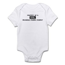 Property of: Religious Studie Infant Bodysuit