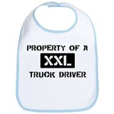 Property of: Truck Driver Bib