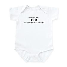 Property of: Rehabilitation C Infant Bodysuit