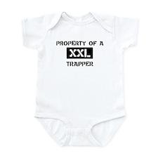 Property of: Trapper Infant Bodysuit