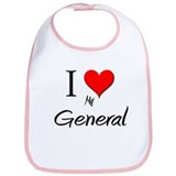 I Love My General Bib