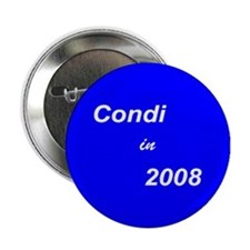 "Condi for President-3 2.25"" Button (10 pack)"