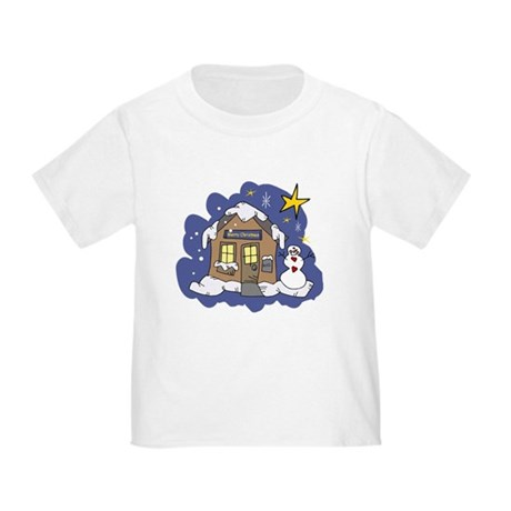 Christmas Cottage Toddler T-Shirt