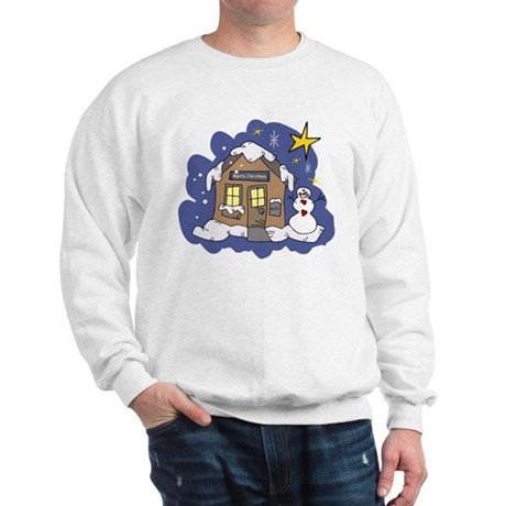 Christmas Cottage Sweatshirt