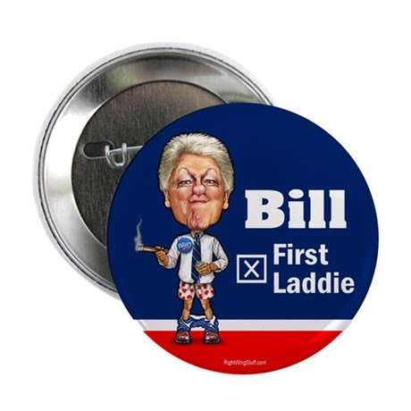 "Bill - First Laddie 2.25"" Button (100 pack)"