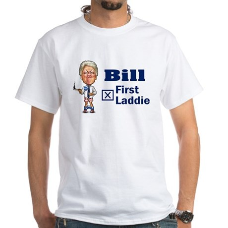 Bill - First Laddie White T-Shirt