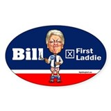 Bill - First Laddie Oval Decal