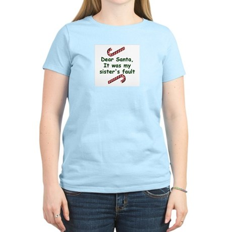 Santa sister Women's Light T-Shirt