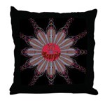 Scorpio-Wheel-square Throw Pillow