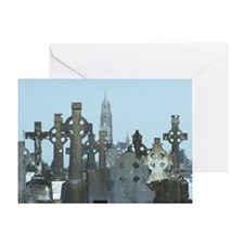 Crosses in Roscommon Greeting Card