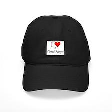 I Love My Forest Ranger Baseball Hat