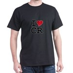 Costa Rica Heart Dark T-Shirt