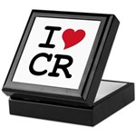 Costa Rica Heart Keepsake Box