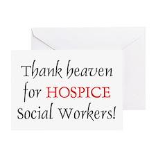 Thank Heaven Hospice BRT Greeting Card