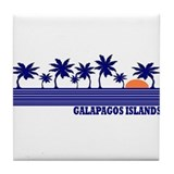 Galapagos Islands Tile Coaster