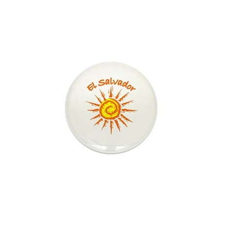 El Salvador Mini Button (10 pack)