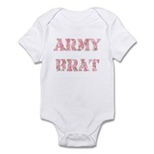 Army Brat (Pink) Infant Bodysuit