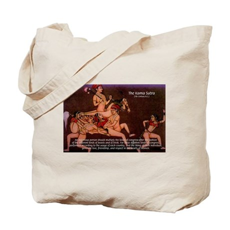 Karma Sutra Sex Positions: Tote Bag