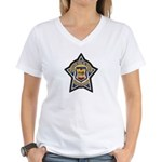 Baja Highway Patrol Women's V-Neck T-Shirt