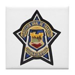 Baja Highway Patrol Tile Coaster