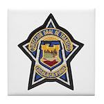 Baja Highway Patrol Tile Coaster
