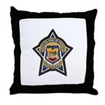 Baja Highway Patrol Throw Pillow