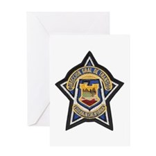 Baja Highway Patrol Greeting Card