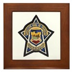 Baja Highway Patrol Framed Tile