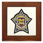 Baja Highway Patrol Framed Tile