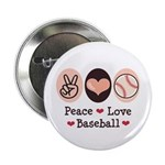 Peace Love Baseball 2.25