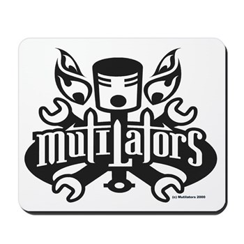 Mutilators Mousepad