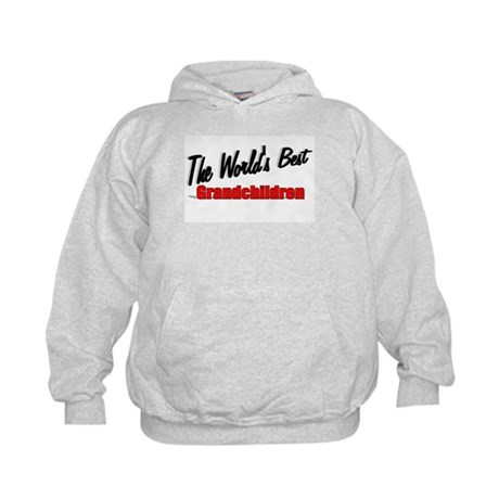 """The World's Best Grandchildren"" Kids Hoodie"