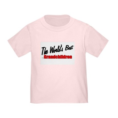 """The World's Best Grandchildren"" Toddler T-"