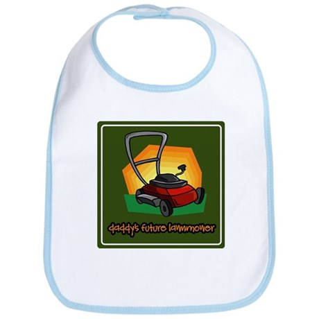 Daddy's Future Lawnmower Bib