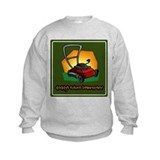 Daddy's Future Lawnmower Sweatshirt