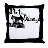 Sprint Car - Sideways 1 Throw Pillow