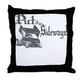 Sprint Car - Sideways 2 Throw Pillow