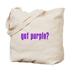 got purple? Tote Bag