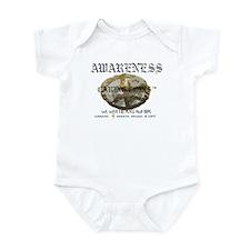 Awareness - Caring Coins Peac Infant Bodysuit