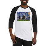Starry Night / Black Cocke Baseball Jersey