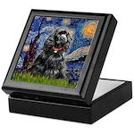 Starry Night / Black Cocke Keepsake Box