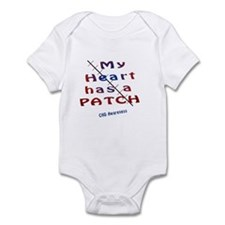 My Heart has a patch Body Suit