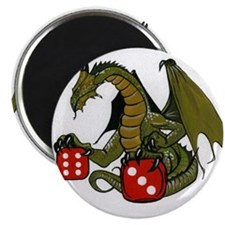 Dice and Dragons Magnet