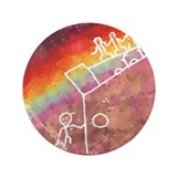 "Rainbow Warriors 3.5"" Button"
