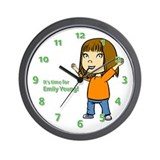 It's time for Emily Yeung! Clock (a)