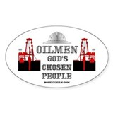 God's Chosen Oval Decal