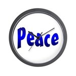 Peace Sign Wall Clock